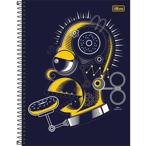 Caderno The Simpsons 1x1 - 96 Folhas - Tilibra