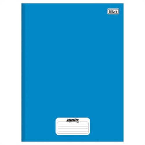 Caderno Tilibra Capa Dura Costurado 1/4 Mais + Azul 1 Matéria 48 Folhas (Emb. Contém 15un.)