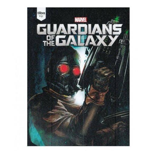 Caderno Top Guardians Of The Galaxy Universitário com Capa Dura Brochura - 96 Fls.-Tilibra ¿