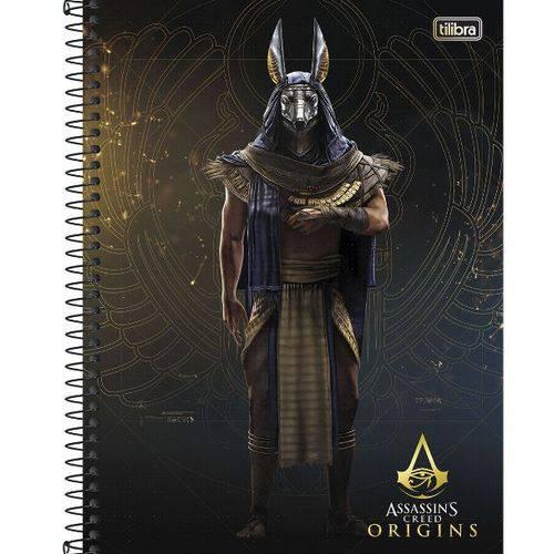 Caderno Univ 10x1 200f Cd 143413 Assassins Creed Tilibra