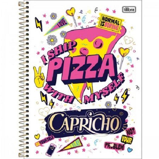 Caderno Univ 16x1 320f CD 11883 Capricho Tilibra