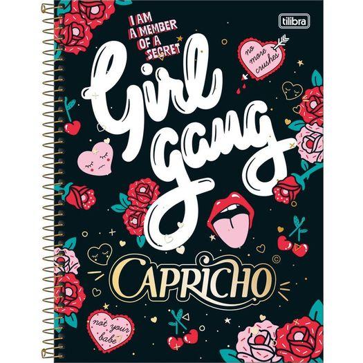 Caderno Univ 12x1 240f CD 12979 Capricho Tilibra