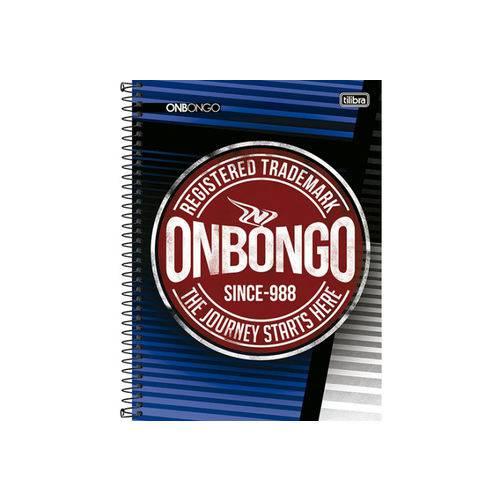 Caderno Univ Tilibra Onbongo 200 Folhas 10 Matérias