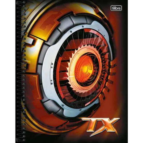 Caderno Univ Tilibra Tx 200 Folhas 10 Matérias