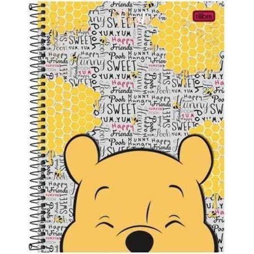 Caderno Universitário 200 Folhas Pooh Color Classic
