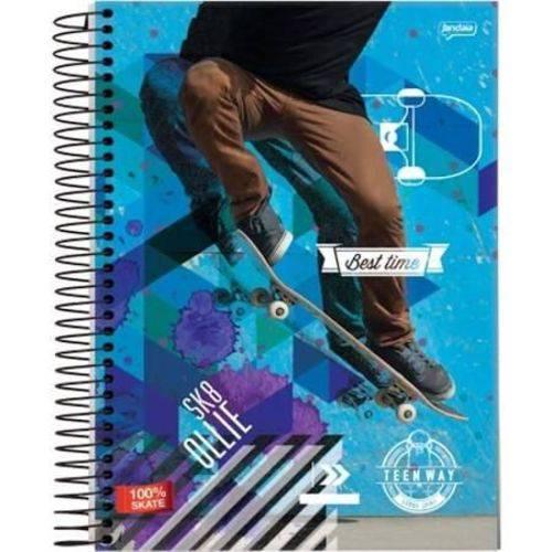 Caderno Universitário 200 Folhas Teen Way