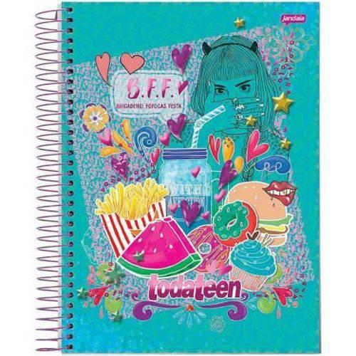Caderno Universitário 200 Folhas Todateen