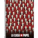 Caderno Universitário 10 Matérias La Casa de Papel Ii Tilibra