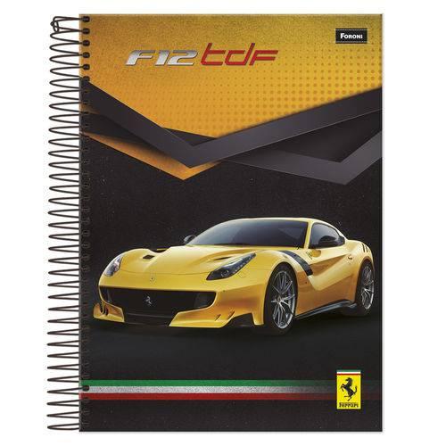 Caderno Universitário 1x1 96 Fls C.D. Foroni - Ferrari 4