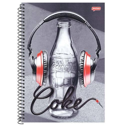 Caderno Universitário 10x1 200 Fls C.D. Jandaia - Coca-Cola 10