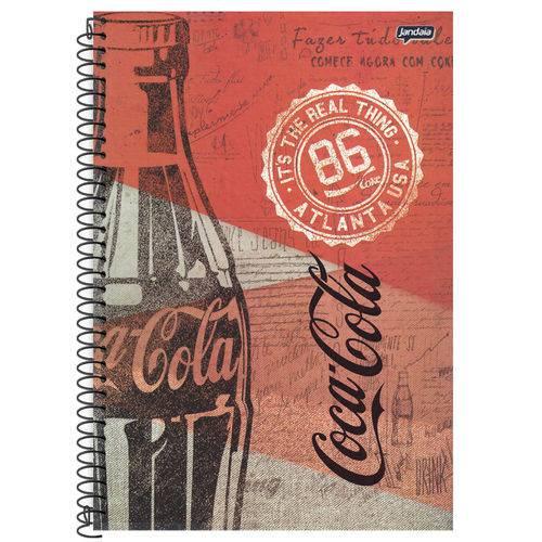 Caderno Universitário 10x1 200 Fls C.D. Jandaia - Coca-Cola 11