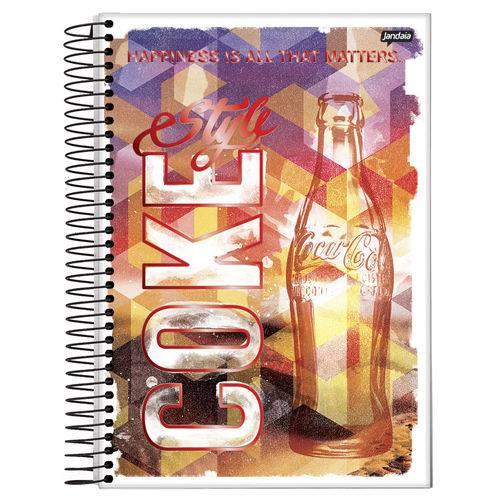 Caderno Universitário 10x1 200 Fls C.D. Jandaia - Coca-Cola 7