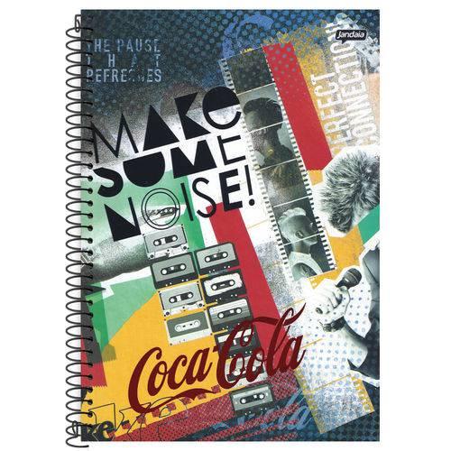 Caderno Universitário 10x1 200 Fls C.D. Jandaia - Coca-Cola 8