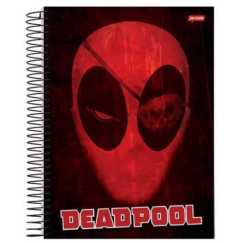 Caderno Universitário 10x1 200 Fls C.D. Jandaia - Deadpool 3