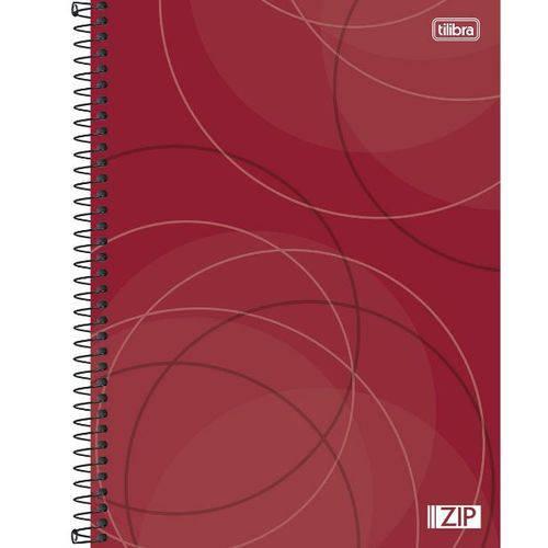 Caderno Universitário 10x1 200 Folhas Capa Dura 134473 Zip Tilibra