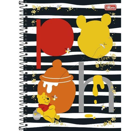 Caderno Universitário 10x1 200 Folhas Capa Dura 132292 Pooh Tilibra