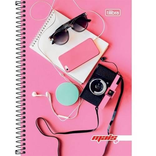 Caderno Universitário 10x1 200 Folhas Capa Dura 139289 Feminino Mais+ Tilibra