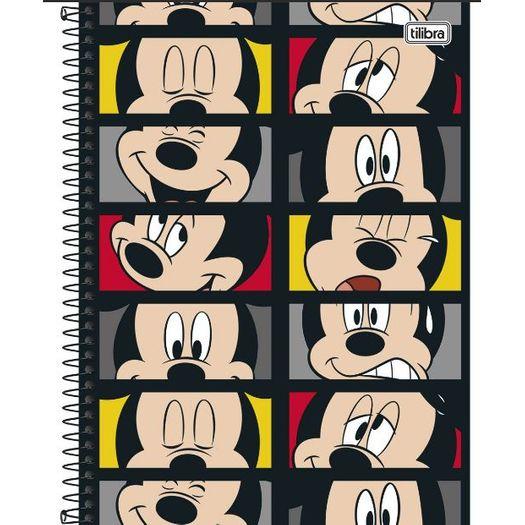 Caderno Universitário 10x1 200f CD 149667 Mickey Tilibra