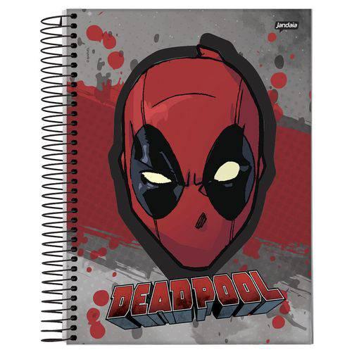 Caderno Universitário 15x1 300 Fls C.d. Jandaia - Deadpool 1