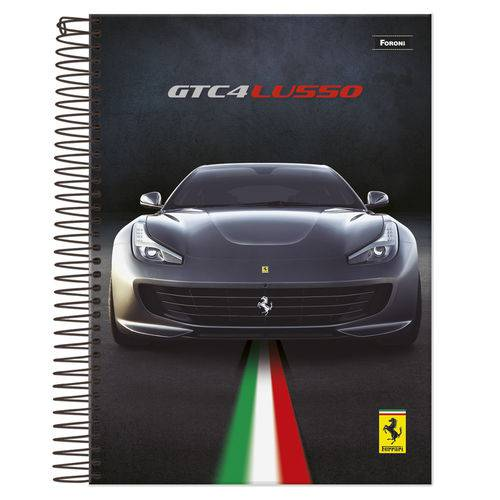 Caderno Universitário 1x1 96 Fls C.D. Foroni - Ferrari 5