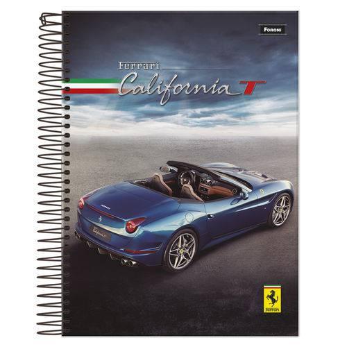 Caderno Universitário 1x1 96 Fls C.D. Foroni - Ferrari 6