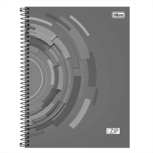 Caderno Universitário 1x1 96 Folhas Capa Dura 134490 Zip Tilibra
