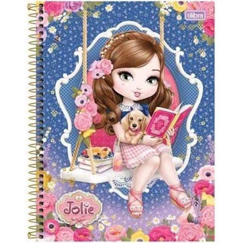 Caderno Universitário 240 Folhas Jolie