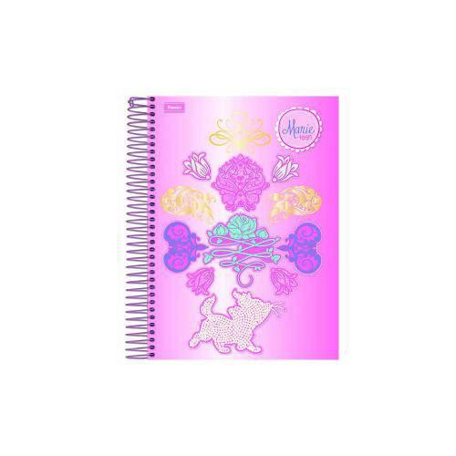 Caderno Universitário 96 Folhas Marie Teen Foroni