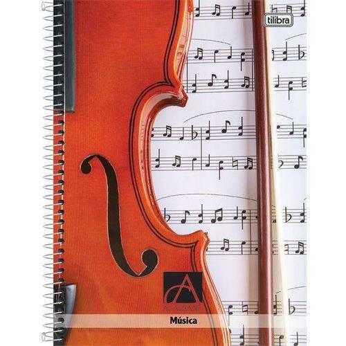 Caderno Universitário 96 Folhas Música Tilibra