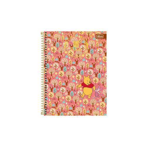 Caderno Universitário 96 Folhas Pooh Tilibra