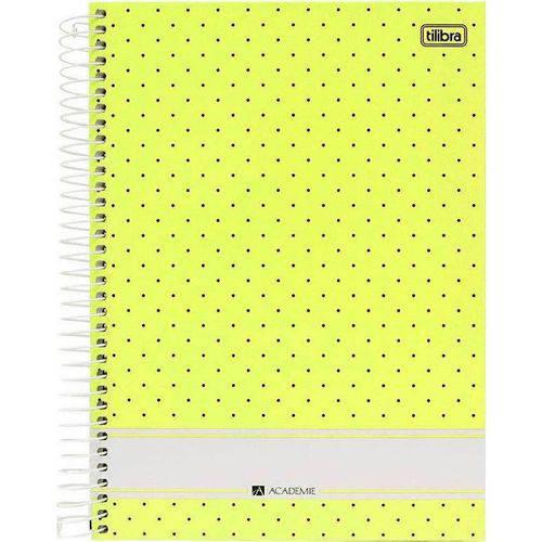 Caderno Universitário Academie Past com 96 Folhas - Tilibra