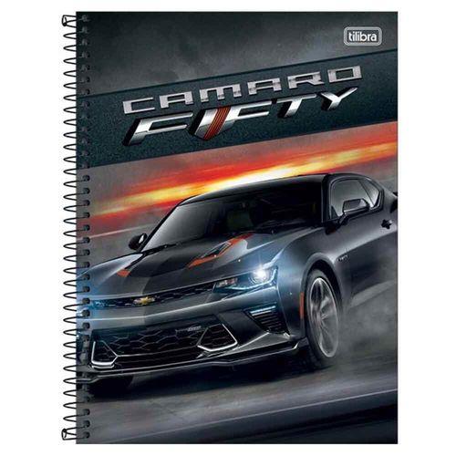 Caderno Universitário Camaro & Corvette 10 Matérias Tilibra 1004131