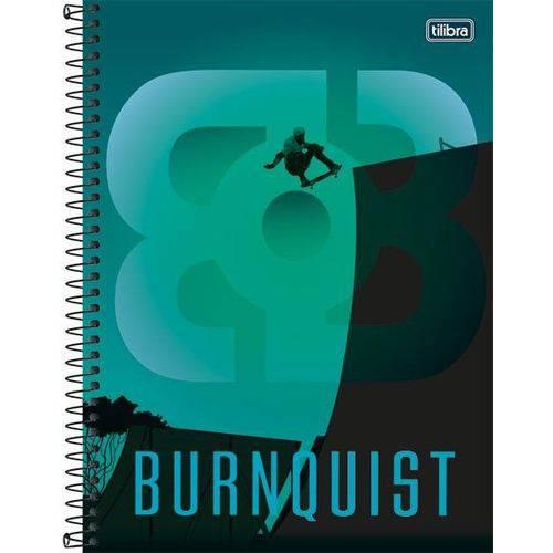Caderno Universitário Capa Dura 200 Folhas 10 Matérias Tilibra Bob Burnquist