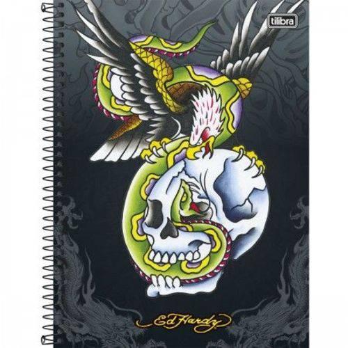 Caderno Universitário Capa Dura 200 Folhas 10 Matérias Tilibra Ed Hard