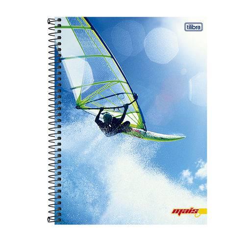 Caderno Universitário Capa Flexível 96 Folhas Mais + Tilibra