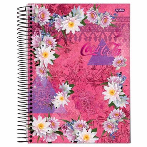 Caderno Universitário Coke Girl 15 Matérias Jandaia 991259