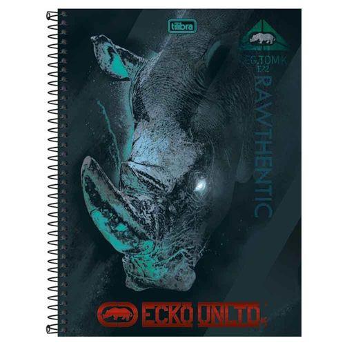Caderno Universitário Ecko Unltd. 10 Matérias Tilibra 1003629