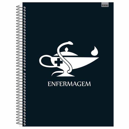 Caderno Universitário Enfermagem 1 Matéria Tilibra 1027321