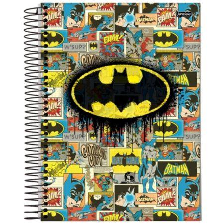 Caderno Universitário Espiral 10x1 200 Folhas Capa Dura DC Comics Jandaia - Estilo 02