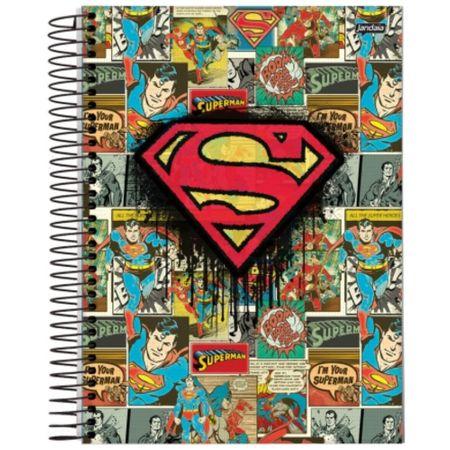 Caderno Universitário Espiral 10x1 200 Folhas Capa Dura DC Comics Jandaia - Estilo 03