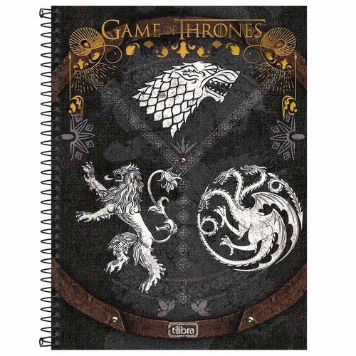 Caderno Universitário Game Of Thrones 10 Matérias Tilibra 132506