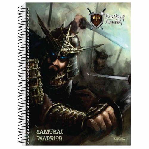 Caderno Universitário Gods Of Arena 1 Matéria São Domingos 130923