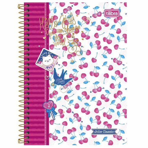 Caderno Universitário Jolie Classic 1 Matéria Tilibra 1009219