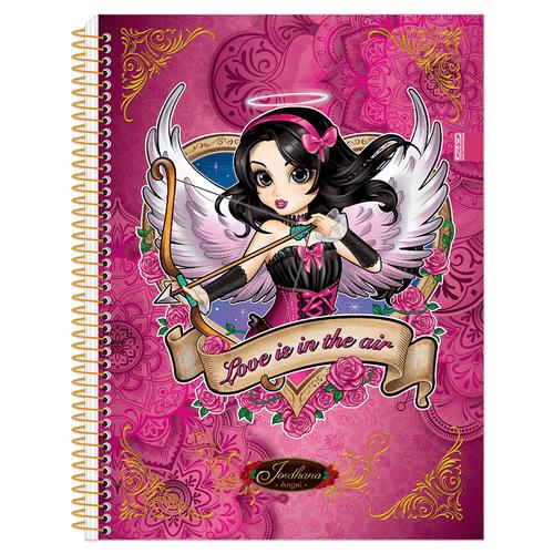 Caderno Universitário Jordhana 10 Matérias São Domingos 994438