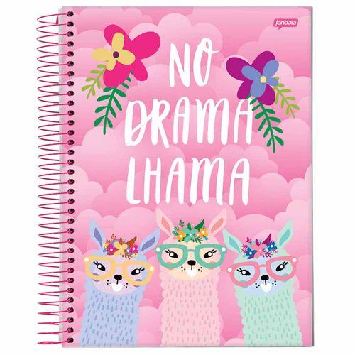 Caderno Universitário Lhama 1 Matéria Jandaia 1027739