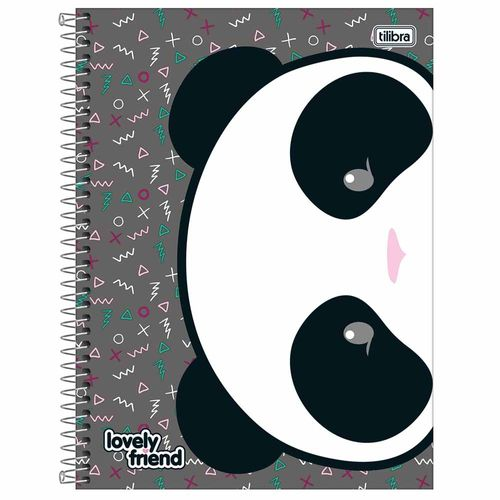 Caderno Universitário Lovely Friend 10 Matérias Tilibra 1012678