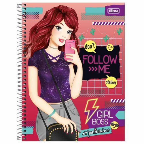 Caderno Universitário Menininhas 1 Matéria Tilibra 240564