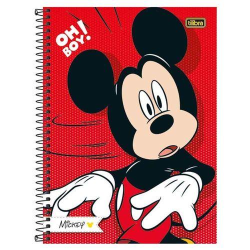 Caderno Universitário Mickey 10 Matérias Tilibra 240282