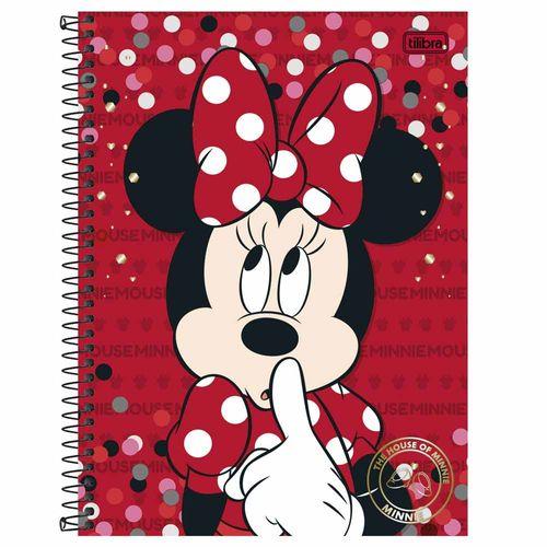 Caderno Universitário Minnie 1 Matéria Tilibra 130340