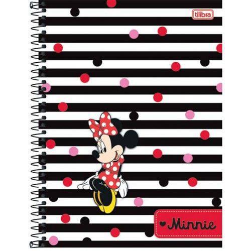 Caderno Universitário Minnie 96 Folhas - 1 Matéria